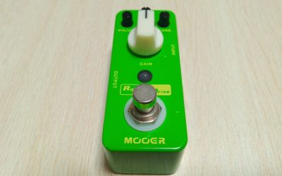 Mooer Rumble Drive: Bypass Genuino